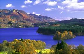 Loch Ard, Lomond Trossachs National park